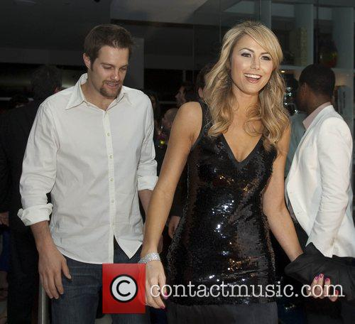 Stacy Keibler, Right and Geoff Stults 7