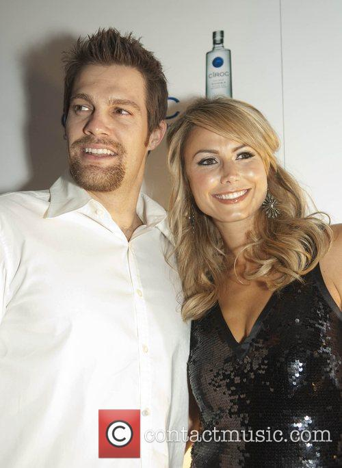 Stacy Keibler, Right and Geoff Stults