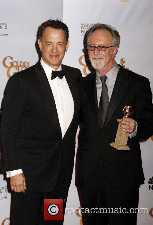 Tom Hanks and Gary Goetzman
