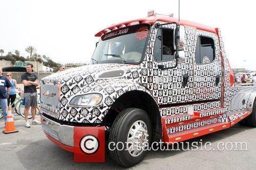 Dennis Rodman's Truck and Dennis Rodman