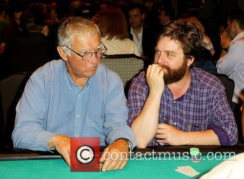 Zach Galifianakis and His Father Harry