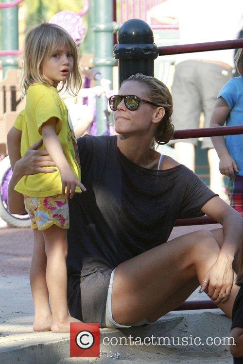 Heidi Klum and Her Daughter Helene