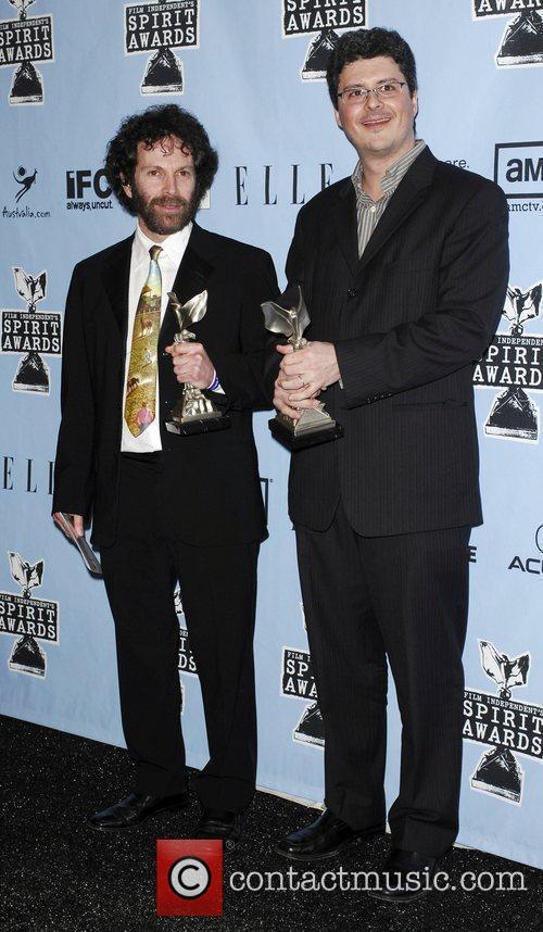 Charlie Kaufman and Anthony Bregman