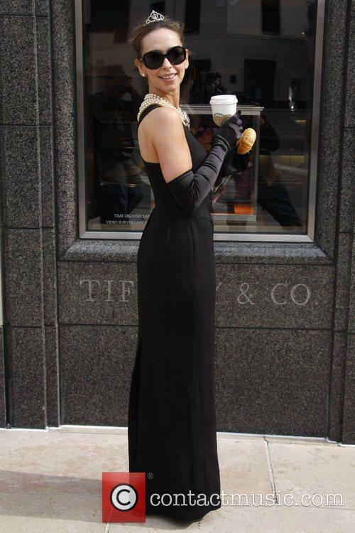 Jennifer Love Hewitt and Audrey Hepburn