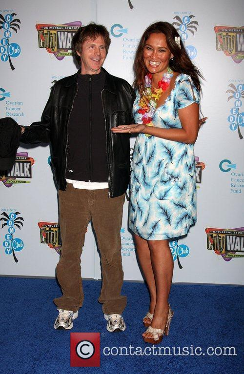 Dana Carvey and Tia Carrere