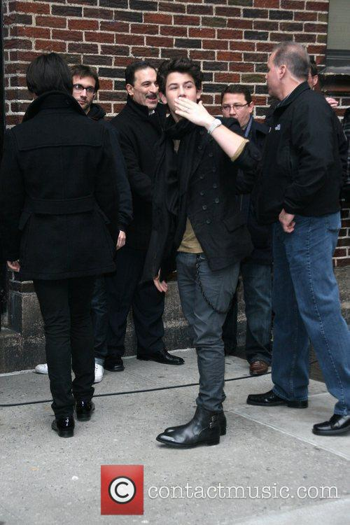 Jonas Brothers and David Letterman 4