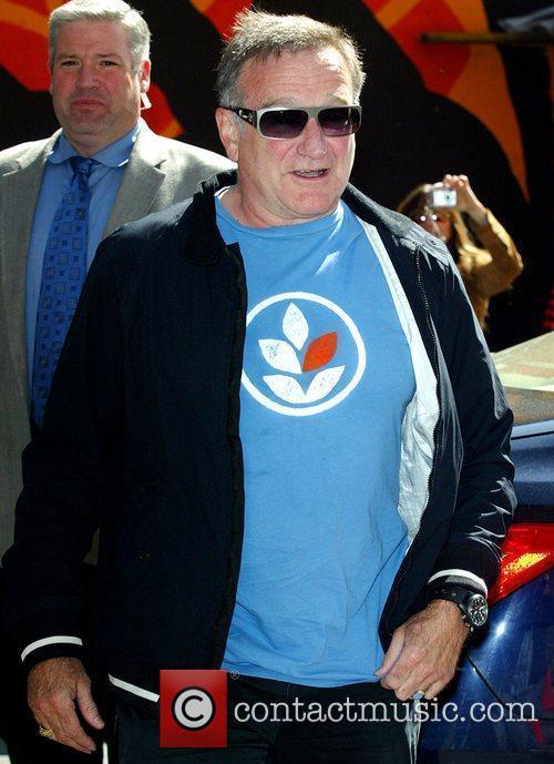 Robin Williams and David Letterman