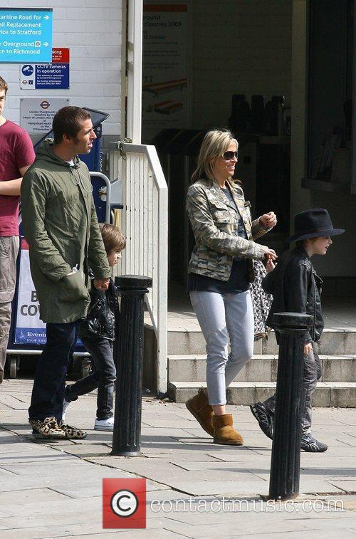 Liam Gallagher and Nicole Appleton