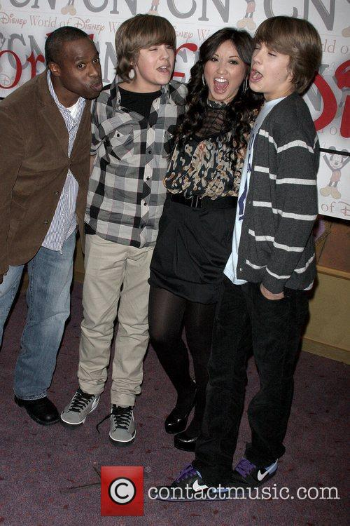Phill Lewis, Brenda Song, Disney and Dylan Sprouse 4