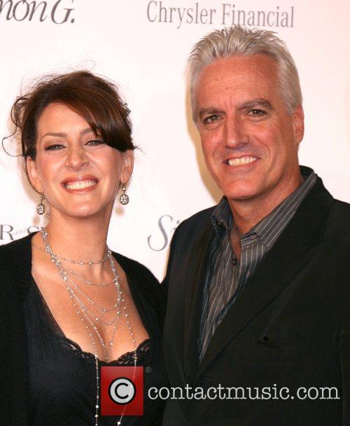 Joely Fisher and Christopher Duddy