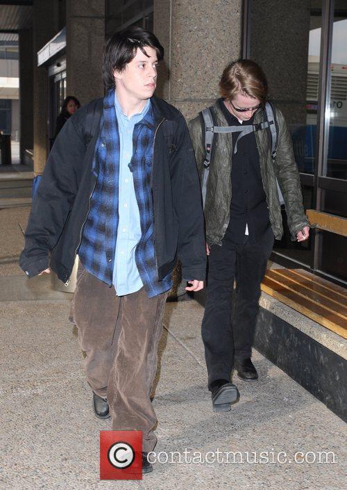 Macaulay Culkin and A Male Friend 10