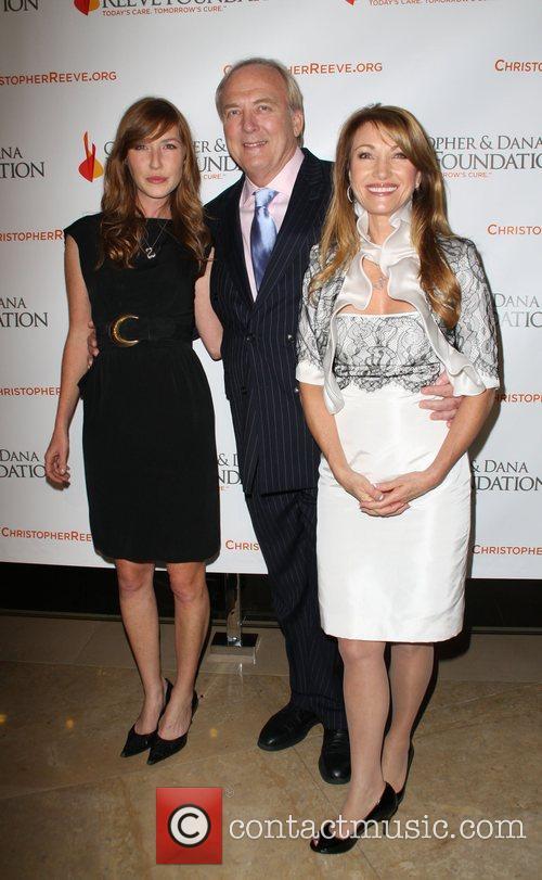 Jane Seymour, James Keach and Katherine Flynn
