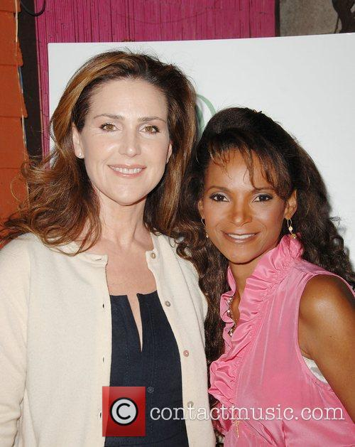 Peri Gilpin and Dr. Lisa Masterson