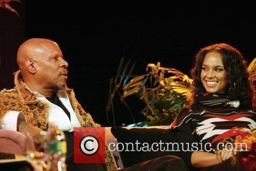 Avery Brooks and Alicia Keys