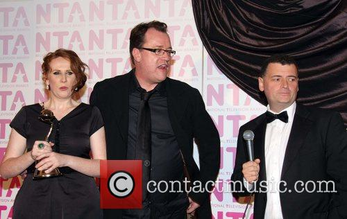 Catherine Tate, Russel Davies and Steven Moffat
