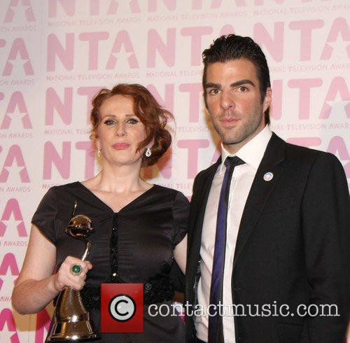 Catherine Tate and Zachary Quinto 3