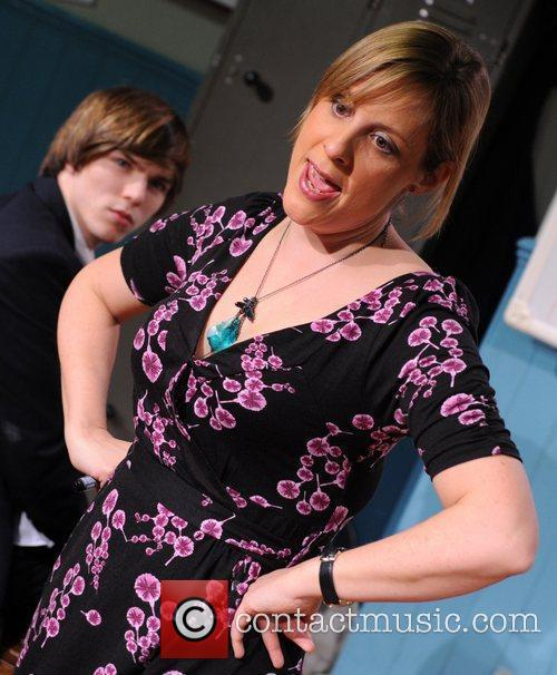 Nicholas Hoult and Mel Giedroyc 3