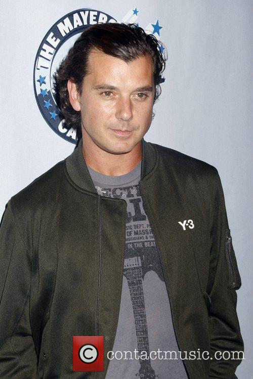 Gavin Rossdale and John Mayer