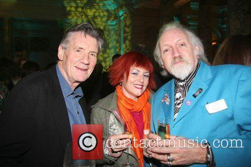 Michael Palin, Rachel Hayward and Robert Rankin