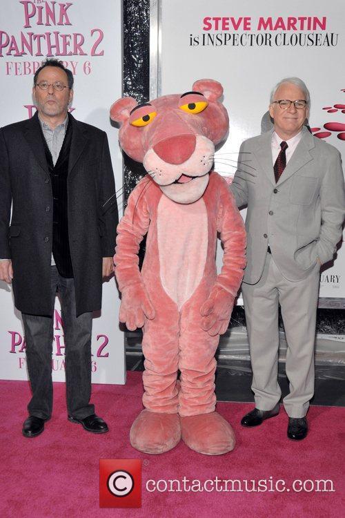 Jean Reno, Pink Panther and Steve Martin 2
