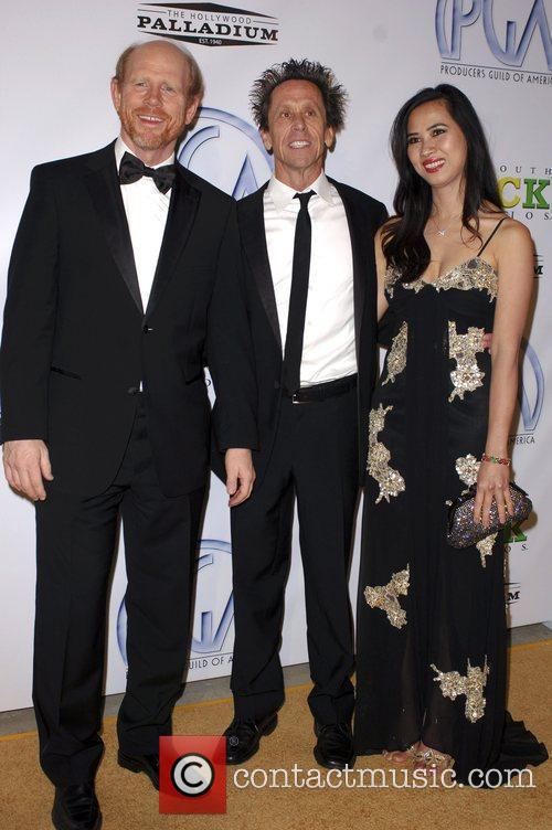 Brian Grazer and Ron Howard 9