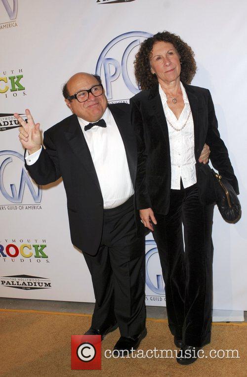 Danny Devito and Rhea Perlman 6