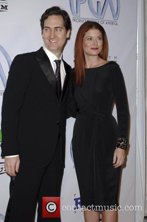 Debra Messing and Daniel Zelman 10