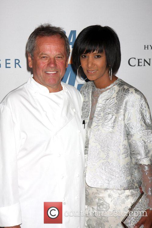 Wolfgang Puck With His Wife Gelila Assefa 5