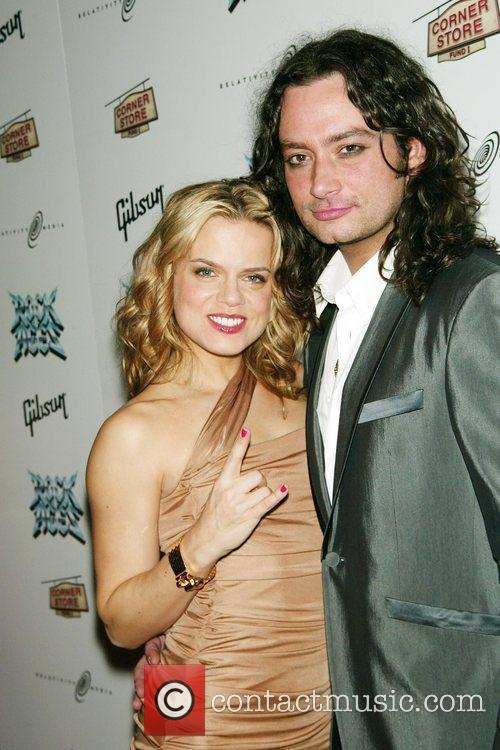 Amy Spanger and Constantine Maroulis