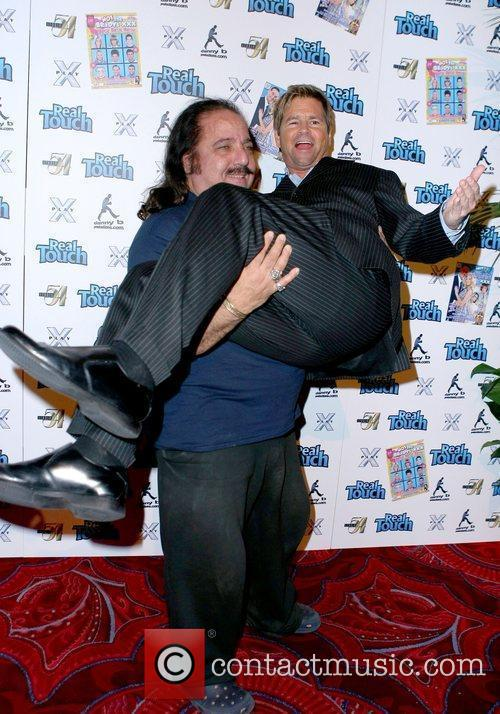 Ron Jeremy and Aaron Eckhart