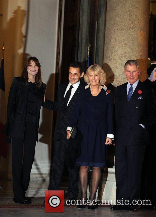 Carla Bruni-sarkozy and Prince Charles 5