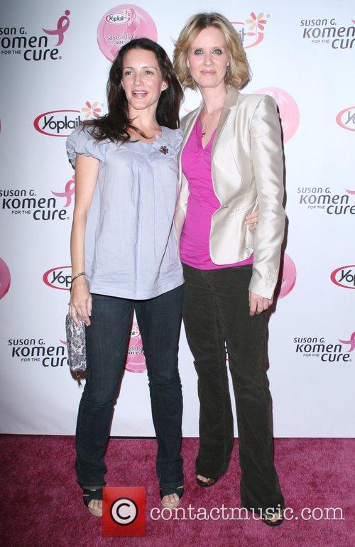 Kristin Davis and Cynthia Nixon 4