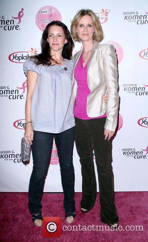 Kristin Davis and Cynthia Nixon 5