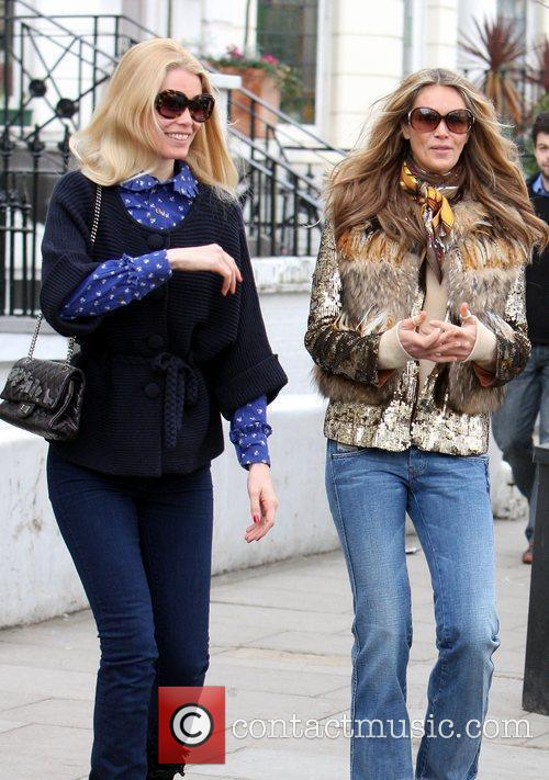Claudia Schiffer and Elle Macpherson 3