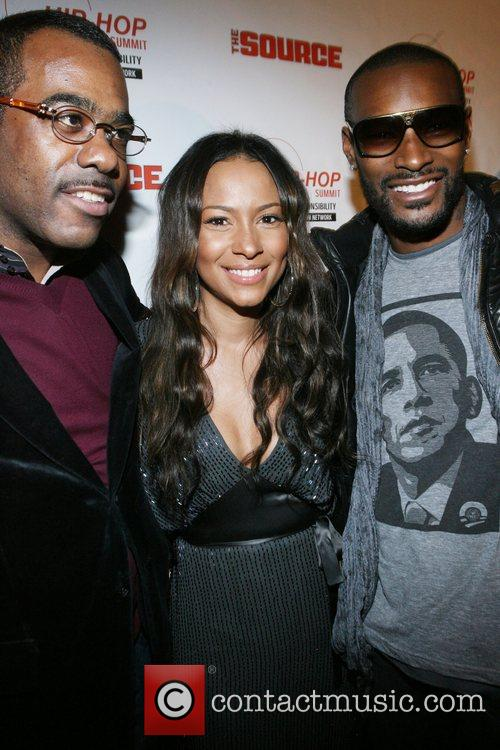 Phil Pabon, Spike Lee and Tyson Beckford