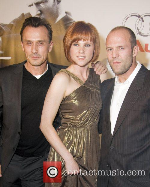 Robert Knepper, Natalya Rudakova and Jason Statham