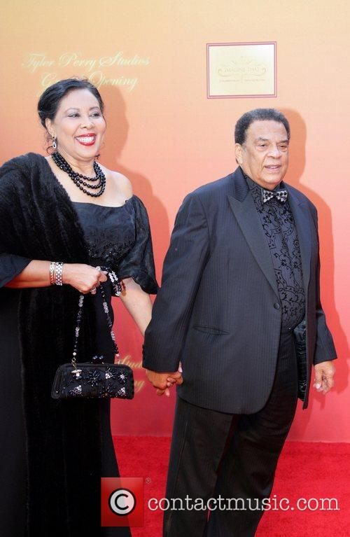 Andrew Young and His Wife 7