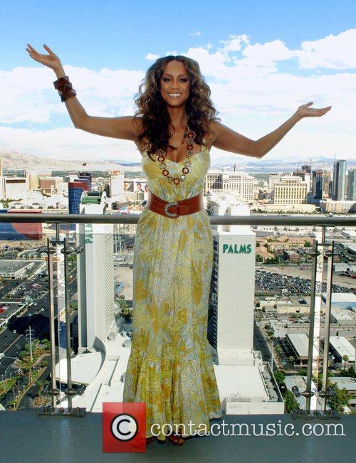Tyra Banks and Las Vegas 2