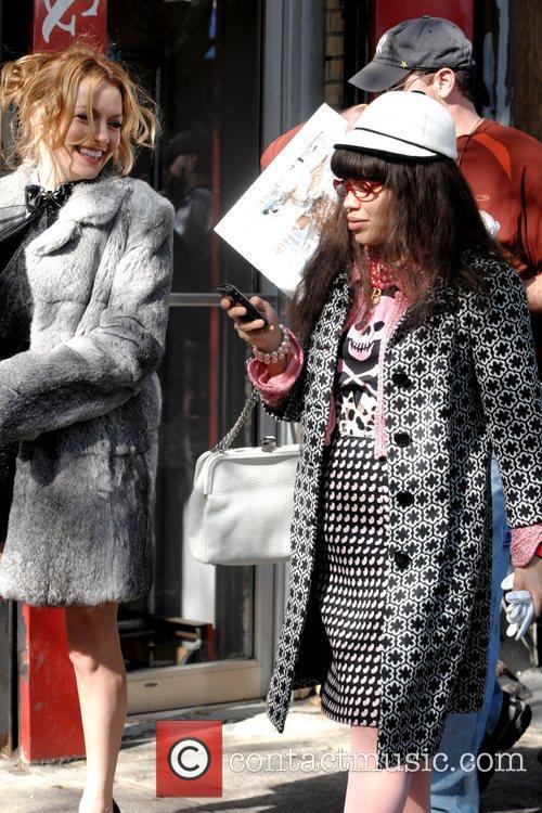 America Ferrera and Becki Newton  on the...