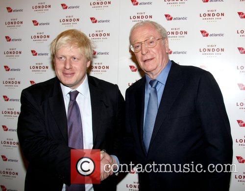 Boris Johnson and Michael Caine 1