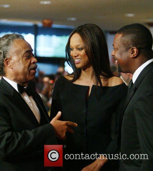 Al Sharpton, Tyra Banks and White House