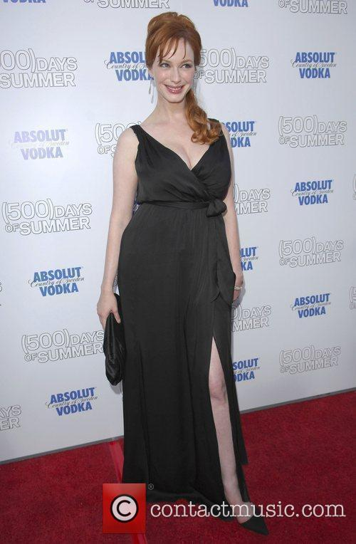Christina Hendricks and Egyptian Theater