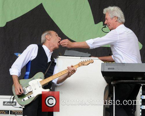 Status Quo and Glastonbury Festival 2