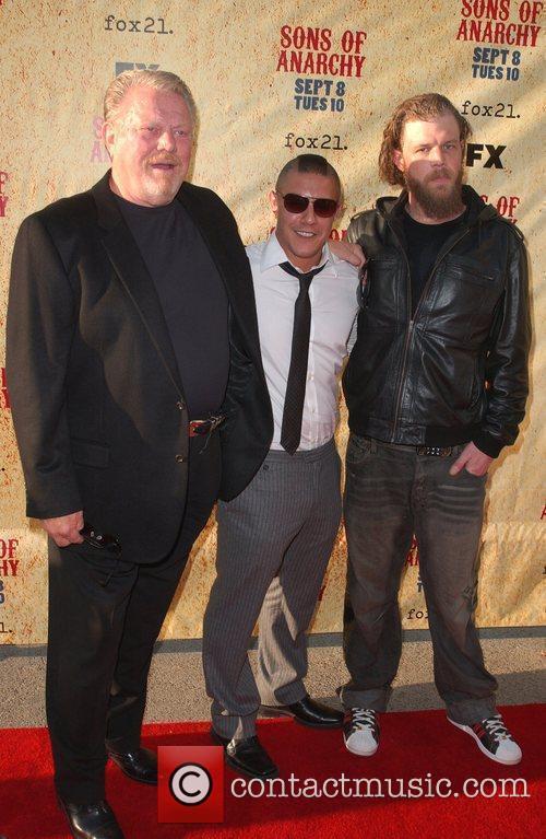 William Lucking, Theo Rossi and Ryan Hurst