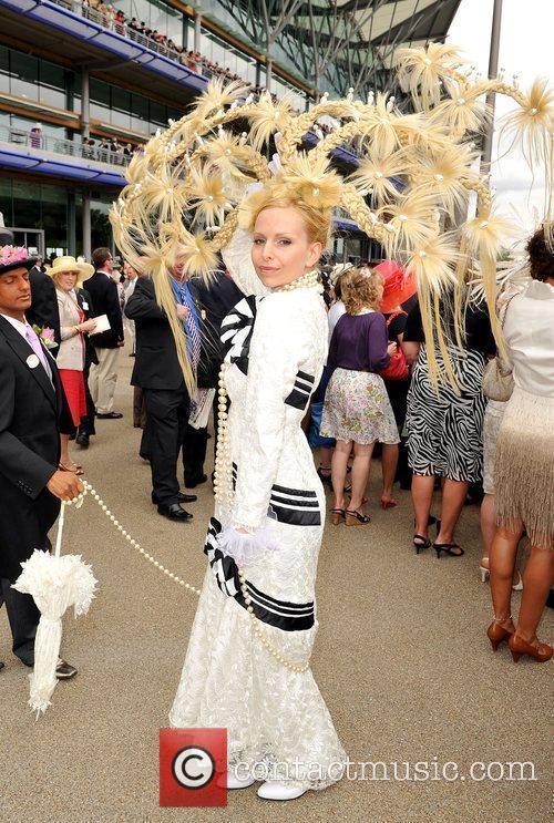 Anneka Svenska and Royal Ascot