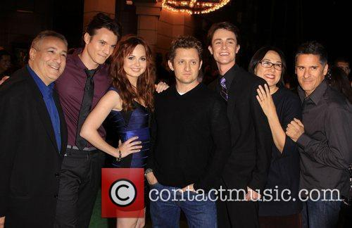 Ryan Kelley, Galadriel Stineman, Alex Winter and Nathan Keyes