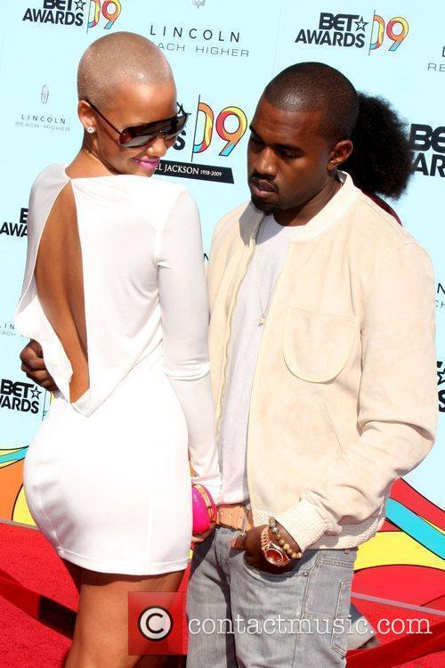 Amber Rose, Kanye West and Bet Awards 1