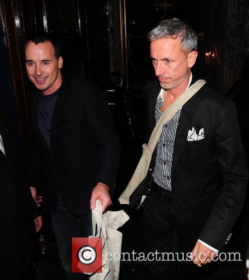 David Furnish, Patrick Cox and Cafe De Paris 2