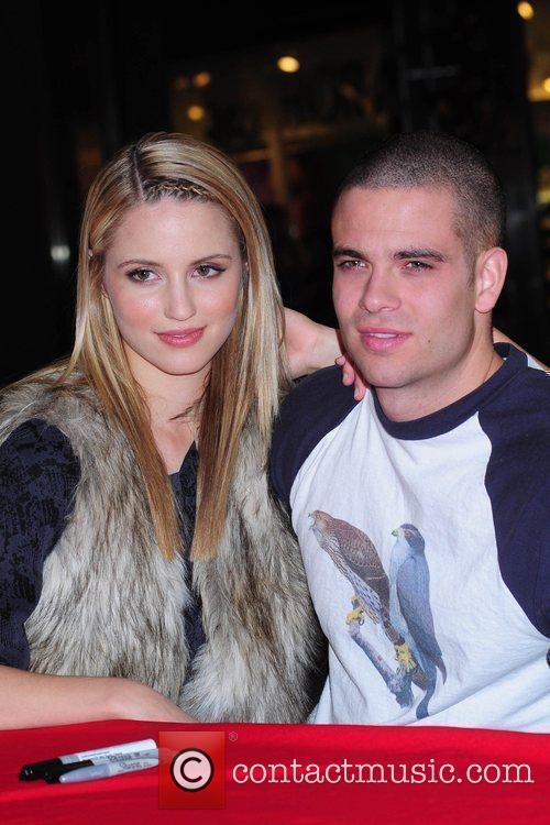 Dianna Agron and Mark Salling 1