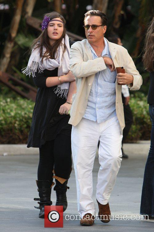 Andy Garcia and His Daughter 2